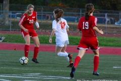 CIAC Girls Soccer; Wolcott vs. Watertown - Photo # 482