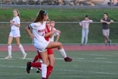 CIAC Girls Soccer; Wolcott vs. Watertown - Photo # 487
