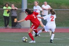 CIAC Girls Soccer; Wolcott vs. Watertown - Photo # 491