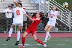 CIAC Girls Soccer; Wolcott vs. Watertown - Photo # 493