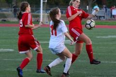 CIAC Girls Soccer; Wolcott vs. Watertown - Photo # 503
