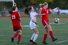 CIAC Girls Soccer; Wolcott vs. Watertown - Photo # 504