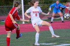 CIAC Girls Soccer; Wolcott vs. Watertown - Photo # 522