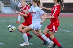 CIAC Girls Soccer; Wolcott vs. Watertown - Photo # 527