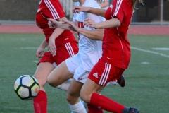 CIAC Girls Soccer; Wolcott vs. Watertown - Photo # 528