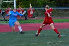 CIAC Girls Soccer; Wolcott vs. Watertown - Photo # 531