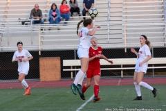 CIAC Girls Soccer; Wolcott vs. Watertown - Photo # 551