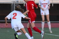 CIAC Girls Soccer; Wolcott vs. Watertown - Photo # 559