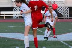 CIAC Girls Soccer; Wolcott vs. Watertown - Photo # 564