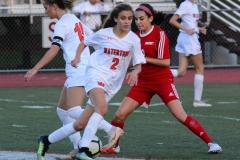 CIAC Girls Soccer; Wolcott vs. Watertown - Photo # 570