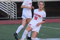 CIAC Girls Soccer; Wolcott vs. Watertown - Photo # 574