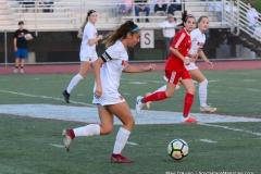 CIAC Girls Soccer; Wolcott vs. Watertown - Photo # 575