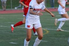 CIAC Girls Soccer; Wolcott vs. Watertown - Photo # 578
