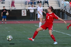 CIAC Girls Soccer; Wolcott vs. Watertown - Photo # 585