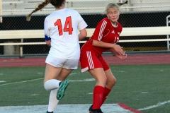 CIAC Girls Soccer; Wolcott vs. Watertown - Photo # 587