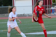 CIAC Girls Soccer; Wolcott vs. Watertown - Photo # 589