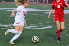 CIAC Girls Soccer; Wolcott vs. Watertown - Photo # 592