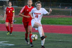CIAC Girls Soccer; Wolcott vs. Watertown - Photo # 604