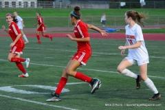 CIAC Girls Soccer; Wolcott vs. Watertown - Photo # 608