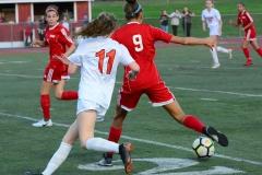 CIAC Girls Soccer; Wolcott vs. Watertown - Photo # 611