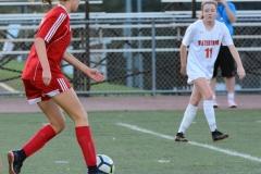 CIAC Girls Soccer; Wolcott vs. Watertown - Photo # 644