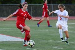 CIAC Girls Soccer; Wolcott vs. Watertown - Photo # 658