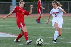 CIAC Girls Soccer; Wolcott vs. Watertown - Photo # 659