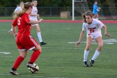 CIAC Girls Soccer; Wolcott vs. Watertown - Photo # 662