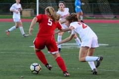 CIAC Girls Soccer; Wolcott vs. Watertown - Photo # 664