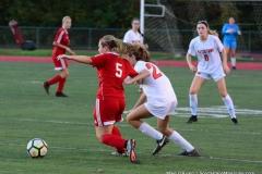 CIAC Girls Soccer; Wolcott vs. Watertown - Photo # 666