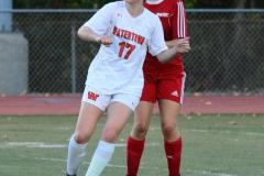 CIAC Girls Soccer; Wolcott vs. Watertown - Photo # 687