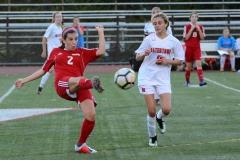 CIAC Girls Soccer; Wolcott vs. Watertown - Photo # 688