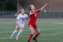 CIAC Girls Soccer; Wolcott vs. Watertown - Photo # 690