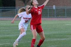 CIAC Girls Soccer; Wolcott vs. Watertown - Photo # 691
