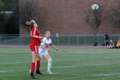 CIAC Girls Soccer; Wolcott vs. Watertown - Photo # 693