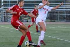CIAC Girls Soccer; Wolcott vs. Watertown - Photo # 702