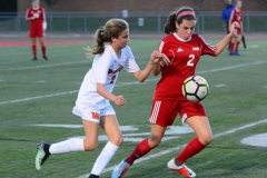 CIAC Girls Soccer; Wolcott vs. Watertown - Photo # 728