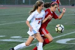 CIAC Girls Soccer; Wolcott vs. Watertown - Photo # 729