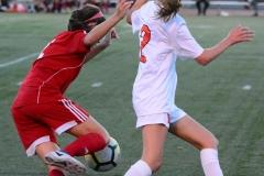 CIAC Girls Soccer; Wolcott vs. Watertown - Photo # 731