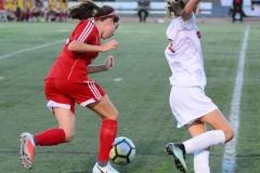 CIAC Girls Soccer; Wolcott vs. Watertown - Photo # 732