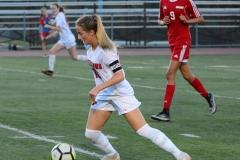 CIAC Girls Soccer; Wolcott vs. Watertown - Photo # 751