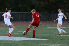 CIAC Girls Soccer; Wolcott vs. Watertown - Photo # 759