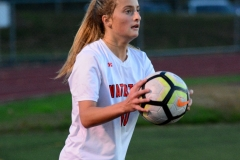 CIAC Girls Soccer; Wolcott vs. Watertown - Photo # 784