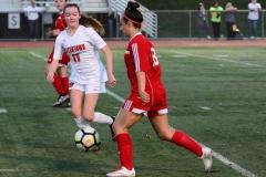 CIAC Girls Soccer; Wolcott vs. Watertown - Photo # 830