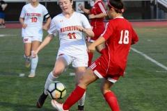 CIAC Girls Soccer; Wolcott vs. Watertown - Photo # 831