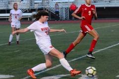 CIAC Girls Soccer; Wolcott vs. Watertown - Photo # 844