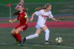 CIAC Girls Soccer; Wolcott vs. Watertown - Photo # 848