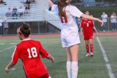 CIAC Girls Soccer; Wolcott vs. Watertown - Photo # 855