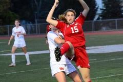 CIAC Girls Soccer; Wolcott vs. Watertown - Photo # 857