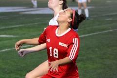 CIAC Girls Soccer; Wolcott vs. Watertown - Photo # 859